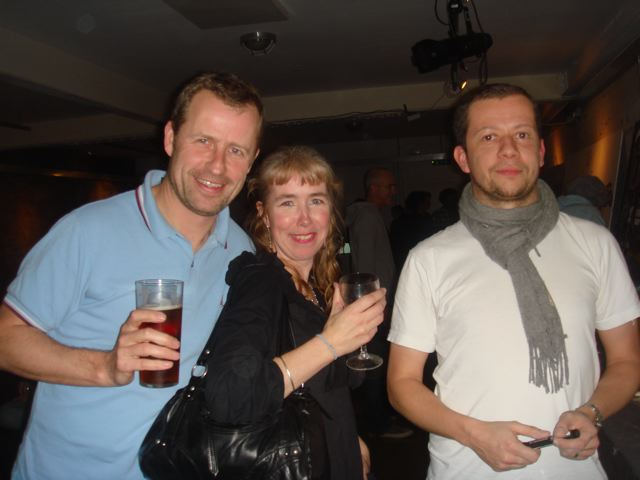 David, Siobhan and Adrian Johnson