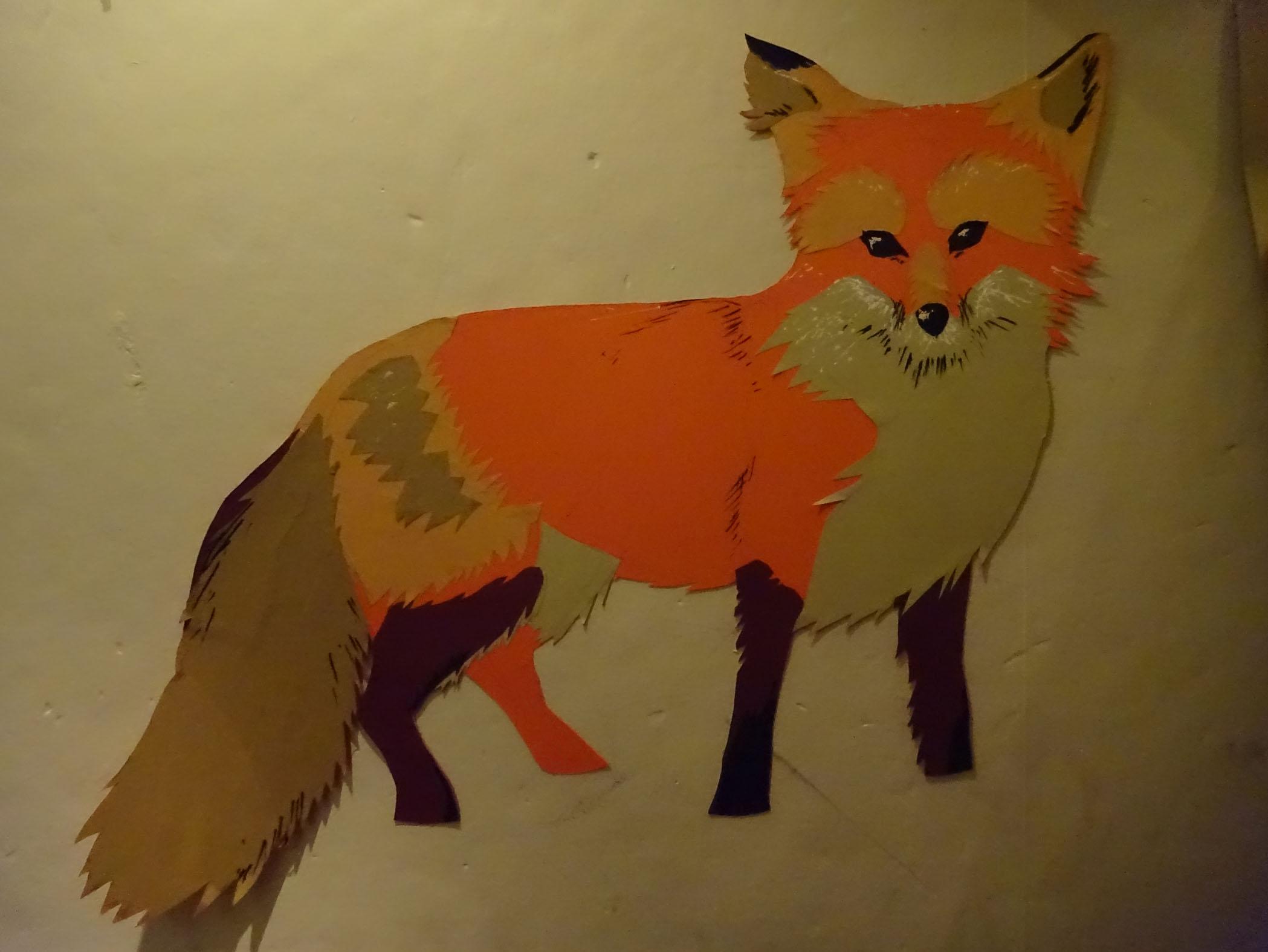 Tom's fab fox