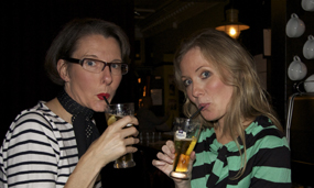 Pimms O'Clock - Jo Moore and Katie Mac