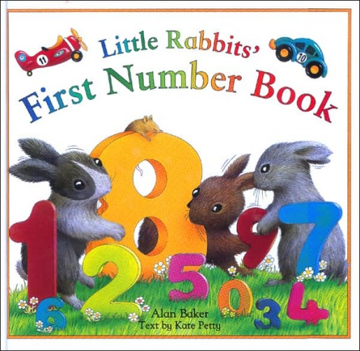 Alan Baker 'Little Rabbits' First Number Book'