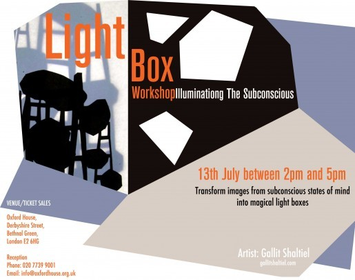 Light Box Workshop- London
