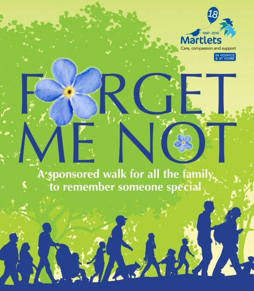 Forget Me Not walk