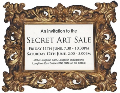Secret art sale image