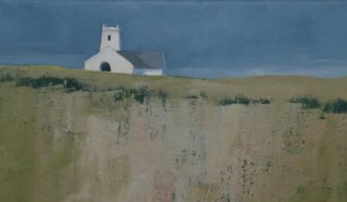 James McNulty Painting of Balintoy N.Ireland