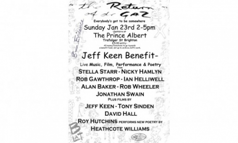 Invitation to jeff keen Benefit afternoon