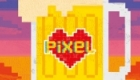 Pixel Love Art birthday cards for Doodle-Doo greeting card publishers.