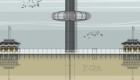 i360 architectural illustration. Available as prints, cards mugs, tea towels, etc.