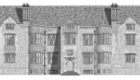 Glynde Place. Book illustration for