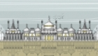 Full Brighton Pavilion architectural illustration. Available as prints, cards mugs, etc.