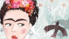 The iconic Frida Kahlo for International Women's Day and Women's History month