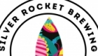 Silver Rocket Brewing. Logo and craft IPA bottle label design. https://miaunderwood.co.uk/Silver-Rocket-Brewing