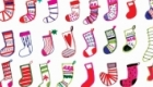 Christmas stockings for Camden Graphics.
