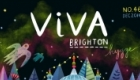 Cover artwork for Viva Brighton Magazine, December 2016