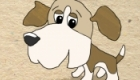 Beagle puppy - character design for children's animation