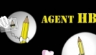 Agent HB and Ms Honey Rub, secret agent / spy spoof characters